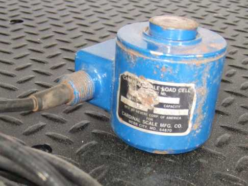 50,000 pound canister load cell